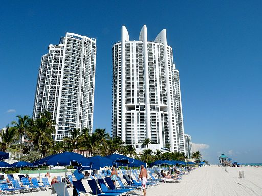 The Trump International Beach Resort In Sunny Isles Fl