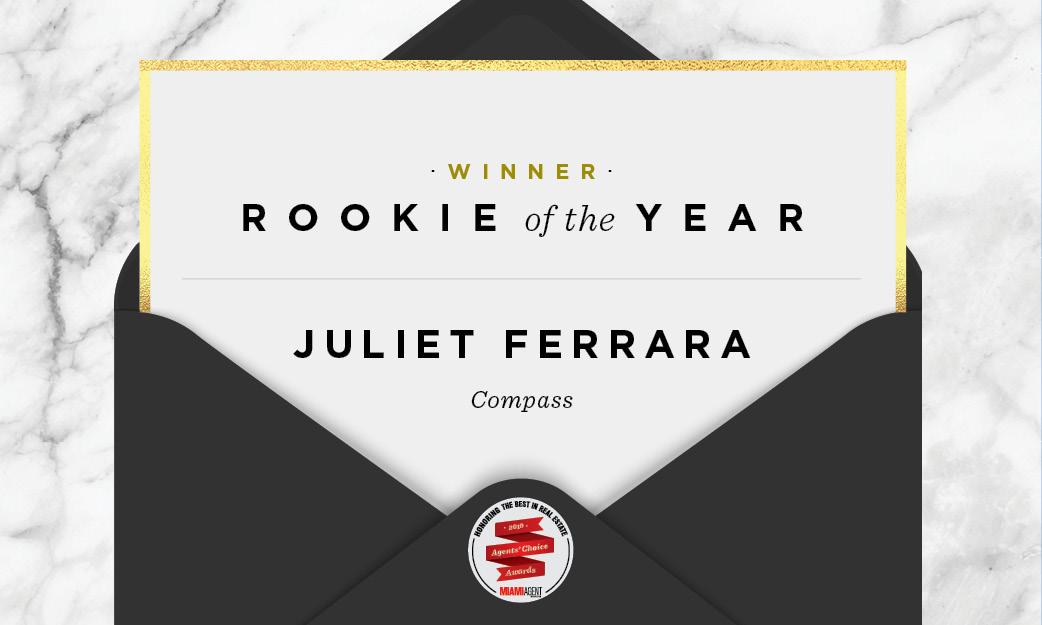 2019 Rookie Of The Year: Juliet Ferrara, Compass