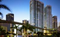 Condo Towers on Miami River