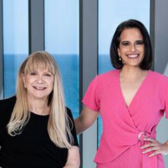 JoAnn Roberts & Rebeca Castellon